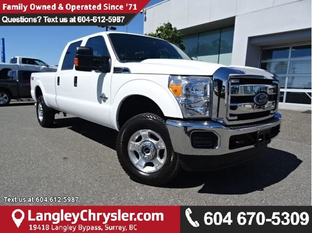 2016 FORD F-350 XLT in Surrey, British Columbia