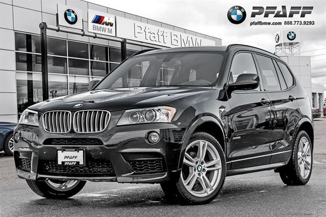 2014 BMW X3 xDrive35i in Mississauga, Ontario
