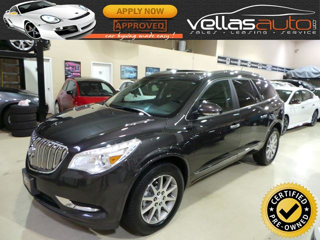 2015 BUICK ENCLAVE Leather AWD| LEATHER| 7PASS| R/CAMERA in Vaughan, Ontario