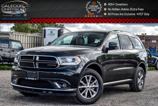 2016 Dodge Durango Limited in Bolton, Ontario