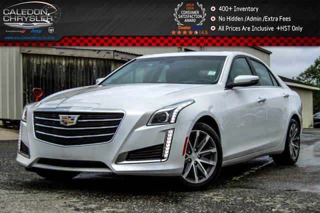 2016 CADILLAC CTS Luxury Collection AWD Navi Pano Sunroof Bluetooth Backup Cam  R-Start 17Alloy in Bolton, Ontario