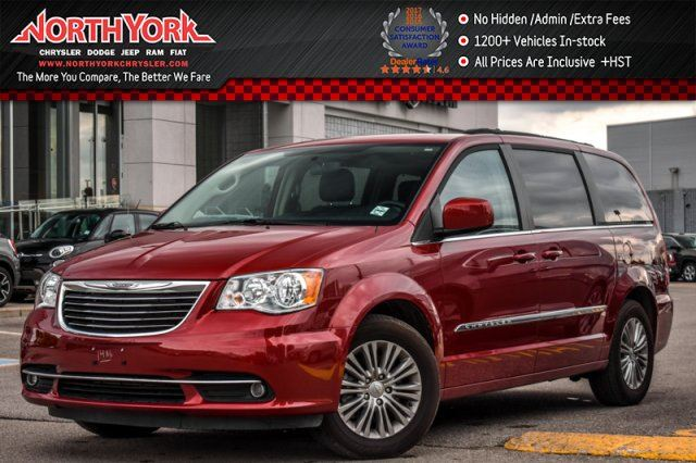 2016 CHRYSLER TOWN AND COUNTRY Touring Navi Backup Cam Leather Heated Front Seat 17Alloy Rims in Thornhill, Ontario