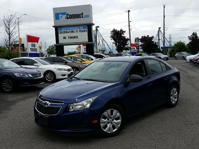 2013 Chevrolet Cruze ONLY $19 DOWN $41/WKLY!! in Ottawa, Ontario