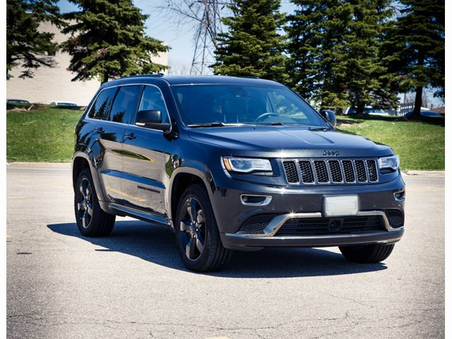 2015 Jeep Grand Cherokee 4WD 4dr Overland in Mississauga, Ontario