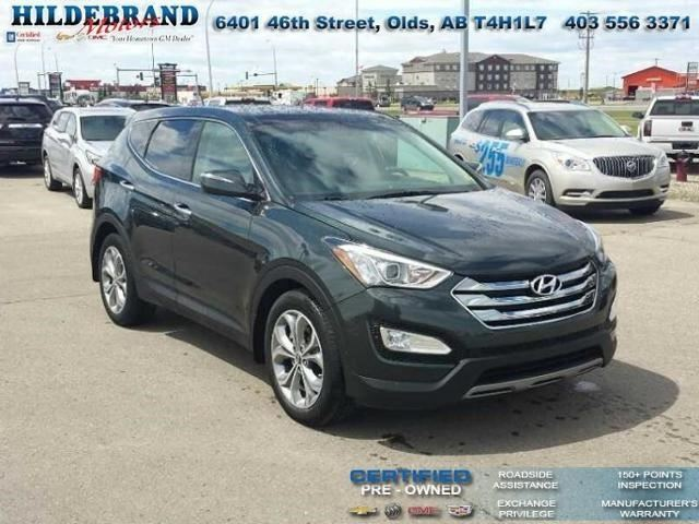 2013 Hyundai Santa Fe Limited in Olds, Alberta