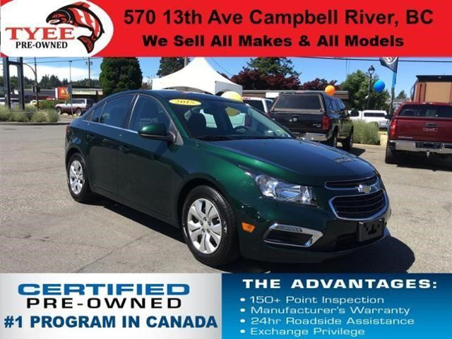 2015 Chevrolet Cruze 1LT in Campbell River, British Columbia