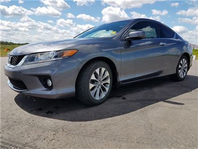 2013 Honda Accord EX-L-NAVI (M6)   HANDSFREELINK   HEATED SEATS in Sherwood Park, Alberta
