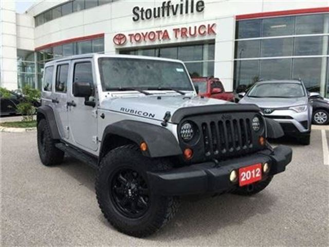 2012 JEEP WRANGLER Unlimited Rubicon in Stouffville, Ontario