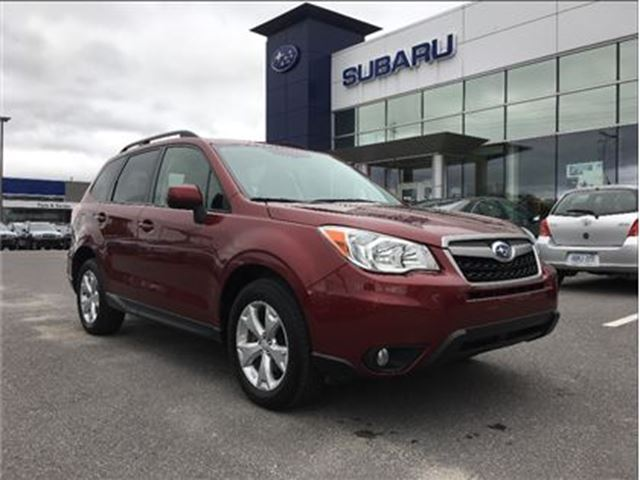 2014 SUBARU FORESTER 2.5i w/ Convenience Pkg. in Kingston, Ontario