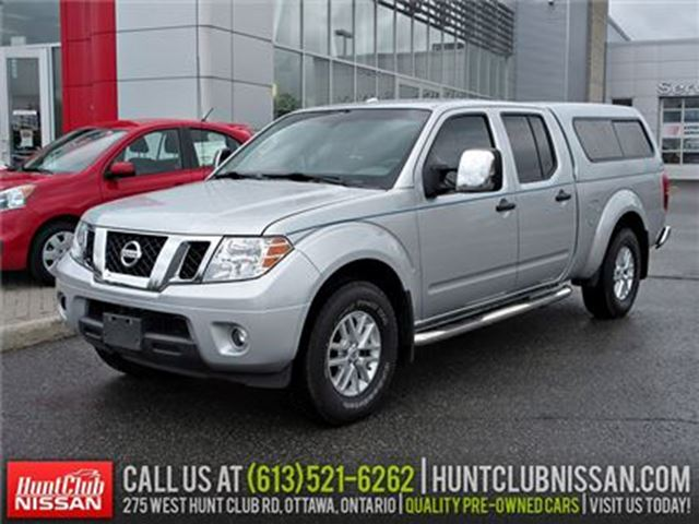 2014 NISSAN FRONTIER SV C.C.   Rear Camera, Heated Seats, Bluetooth in Ottawa, Ontario