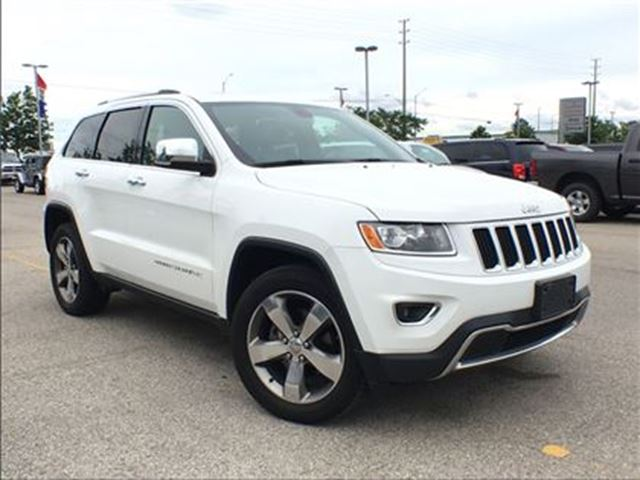 2015 JEEP GRAND CHEROKEE LIMITED**POWER SUNROOF**NAVIGATION** in Mississauga, Ontario