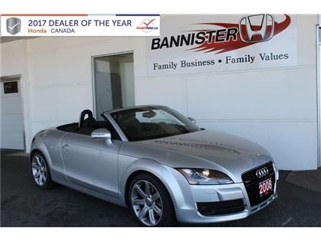 2008 AUDI TT 3.2L in Vernon, British Columbia