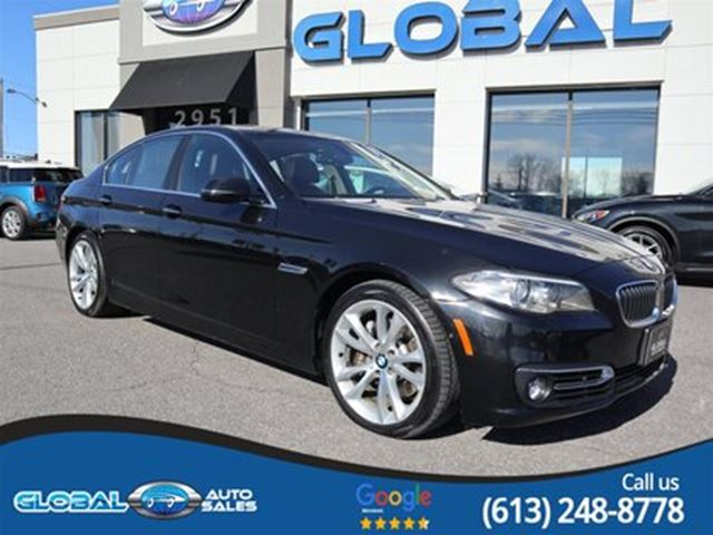2014 BMW 5 Series 535i xDrive LOW KM. PREMIUM PKG in Ottawa, Ontario