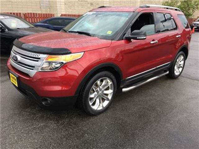 2014 Ford Explorer XLT, Automatic, Navigation, Third Row Seating, 4*4 in Burlington, Ontario