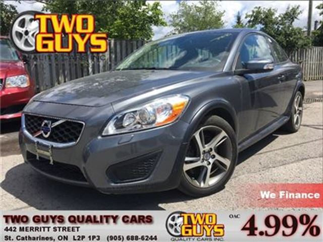 2013 Volvo C30 T5 HEATED LEATHER SUNROOF ALLOYS in St Catharines, Ontario