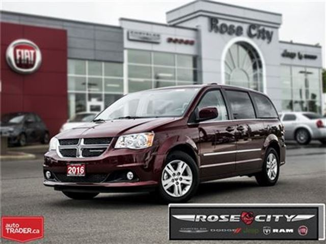 2016 DODGE GRAND CARAVAN Crew in Welland, Ontario
