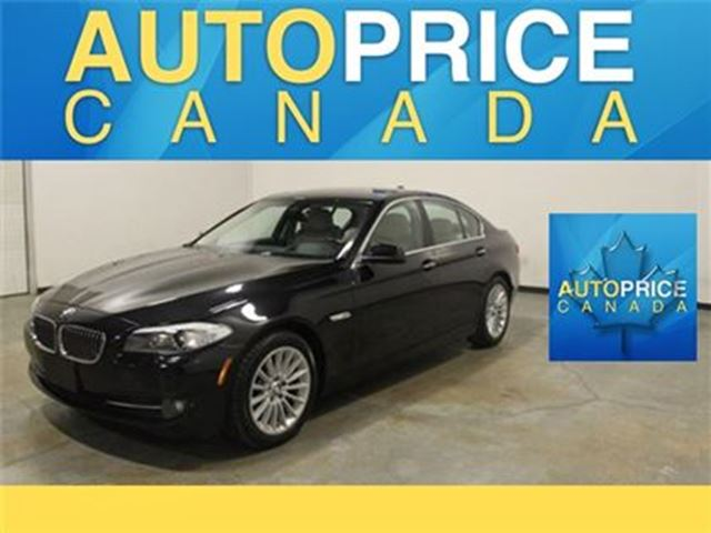 2013 BMW 5 SERIES X-DRIVE NAVI TECH PKG 360 CAMERA in Mississauga, Ontario