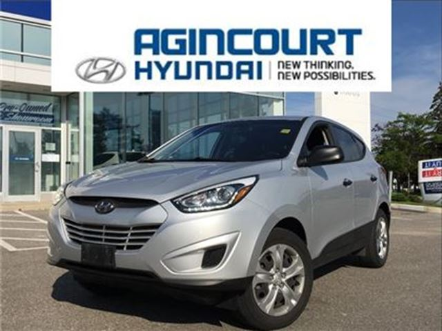 2014 HYUNDAI TUCSON GL/HEATED SEATS/LED LIGHTS/OFF LEASE/ONLY 44274KMS in Toronto, Ontario
