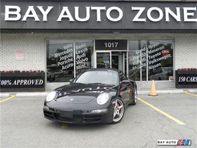 2008 PORSCHE 911 Carrera 4S NAVIGATION SOFT TOP AWD in Toronto, Ontario