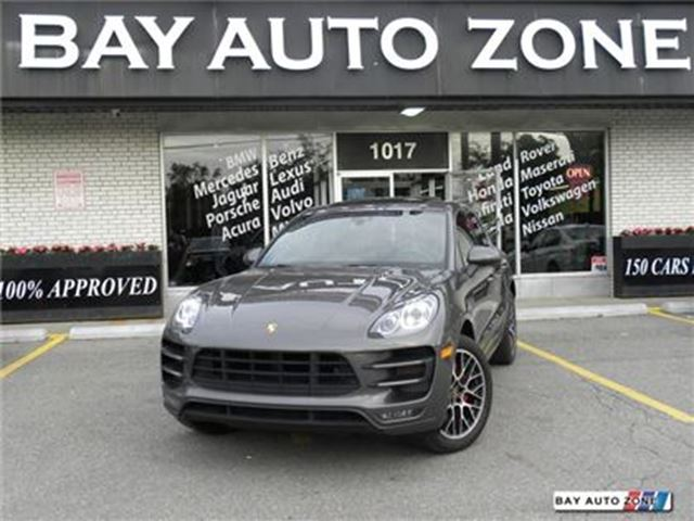 2015 PORSCHE MACAN TURBO NAVIGATION BACK UP CAM AWD in Toronto, Ontario