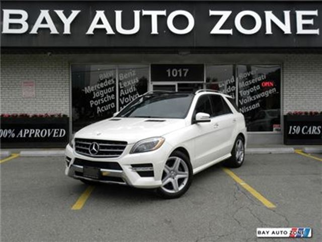 2013 MERCEDES-BENZ M-CLASS ML 350 BlueTEC NAVIGATION BACK UP CAM in Toronto, Ontario