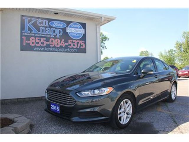 2015 Ford Fusion SE SYNC 2.5L 18' WHEELS BACKUP CAMERA in Essex, Ontario