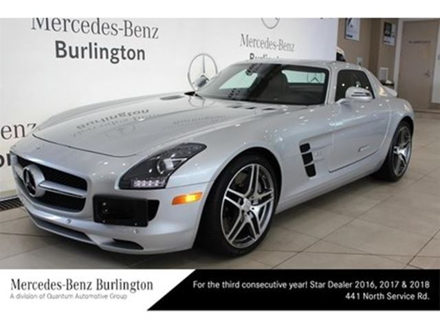 2011 mercedes benz sls amg coupe burlington ontario car. Black Bedroom Furniture Sets. Home Design Ideas