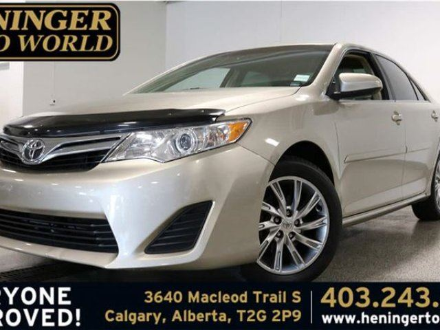 2014 TOYOTA CAMRY LE in Calgary, Alberta