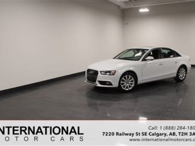 2013 AUDI A4 BLOWOUT PRICING!! in Calgary, Alberta