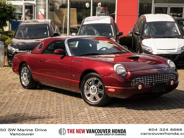 2004 Ford Thunderbird 2Dr Convertible in Vancouver, British Columbia