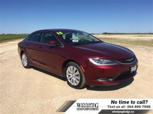 2015 Chrysler 200 LX *LOW Payment-Local Trade* in Winnipeg, Manitoba