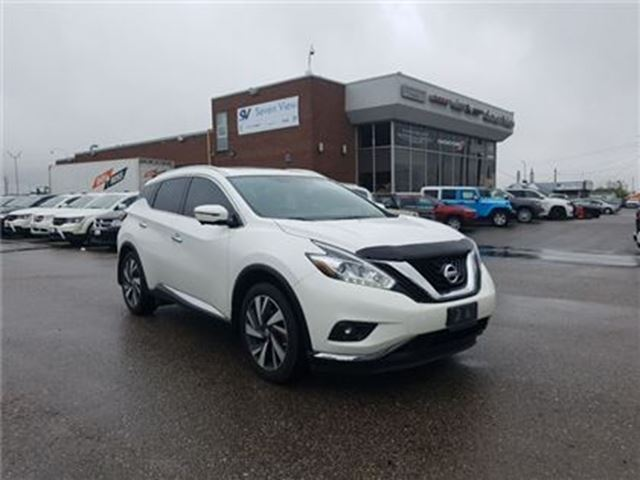 2016 Nissan Murano Platinum Navigation, Leather, Sunroof !! in Concord, Ontario