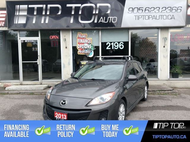 2013 MAZDA MAZDA3 GS-SKY ** Heated Leather, Sunroof, Automatic ** in Bowmanville, Ontario