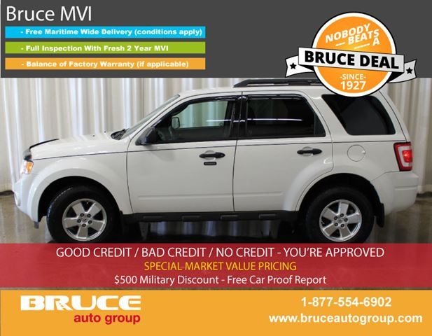 2011 Ford Escape XLT 2.5L 4 CYL AUTOMATIC AWD in Middleton, Nova Scotia
