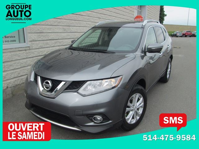 2014 NISSAN ROGUE SV*7PLACES*AWD*TOIT PANO*GPS*52000KM* in Longueuil, Quebec