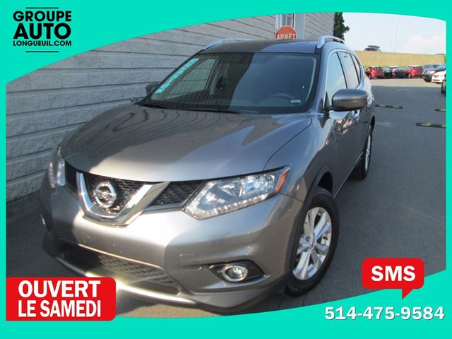 2016 Nissan Rogue *SV*AWD*TOIT PANO*MAGS*53000KM* in Longueuil, Quebec