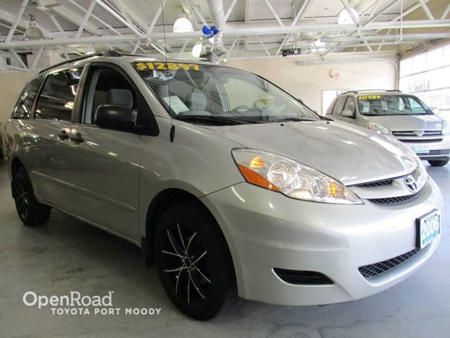 2006 TOYOTA SIENNA CE AWD - Air Conditioning, Keyless Entry in Port Moody, British Columbia