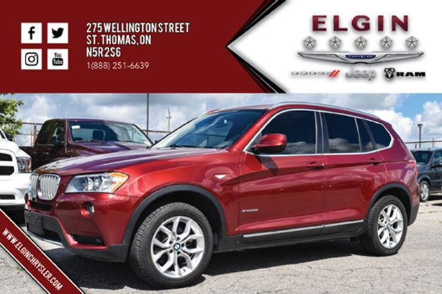 2011 BMW X3 xDrive28i in St Thomas, Ontario