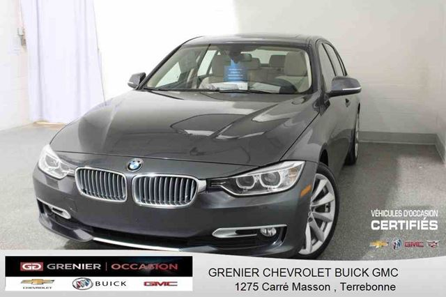 2013 BMW 3 SERIES XDRIVE *CUIR + TOIT OUVRANT + SIn++GES CHAUFFANTS* in Terrebonne, Quebec
