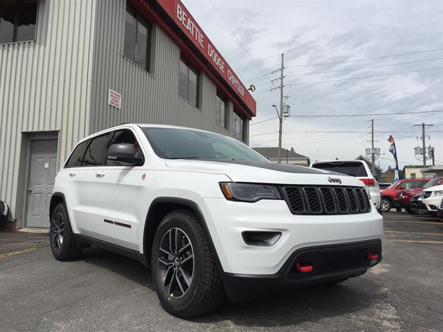 2017 Jeep Grand Cherokee Trailhawk in Brockville, Ontario