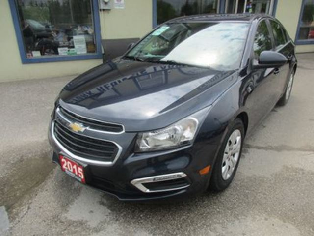 2015 CHEVROLET CRUZE WELL EQUIPPED LT-1 EDITION 5 PASSENGER 1.4L - T in Bradford, Ontario