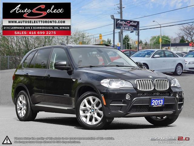 2013 BMW X5 xDrive35d AWD **DIESEL** ONLY 94K! **TECHNOLOGY PKG** CLN CP in Scarborough, Ontario
