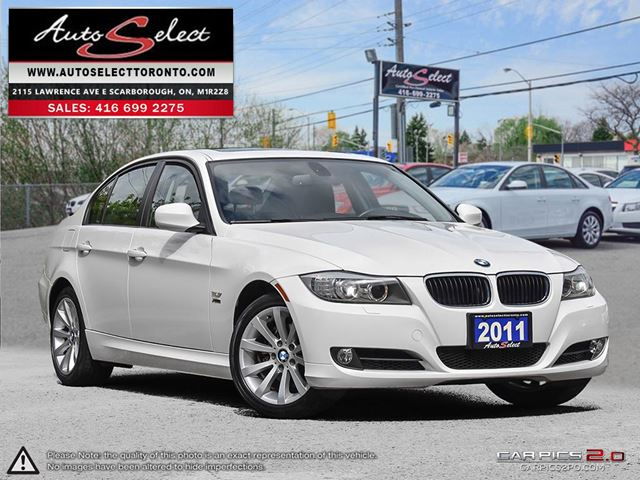 2011 BMW 3 SERIES 328 i xDrive AWD ONLY 76K! **NAVIGATION PKG** CLEAN CARPROOF in Scarborough, Ontario