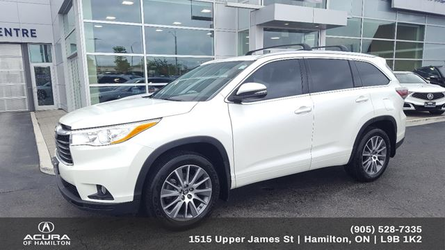 2016 TOYOTA HIGHLANDER XLE XLE, 3M CLEARSHIELD in Hamilton, Ontario