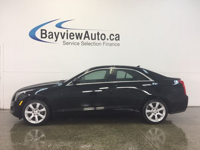 2013 Cadillac ATS - AWD! TURBO! SUNROOF! LEATHER! ON STAR! in Belleville, Ontario