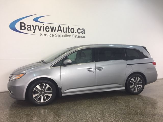 2016 Honda Odyssey TOURING- 3.5L! ROOF! LEATHER! DVD! SHOP VAC! BSA! in Belleville, Ontario