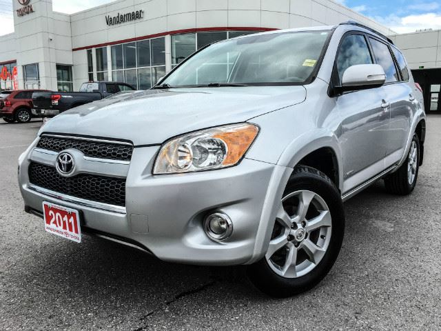 2011 TOYOTA RAV4 Ltd LIMITED-LEATHER! in Cobourg, Ontario