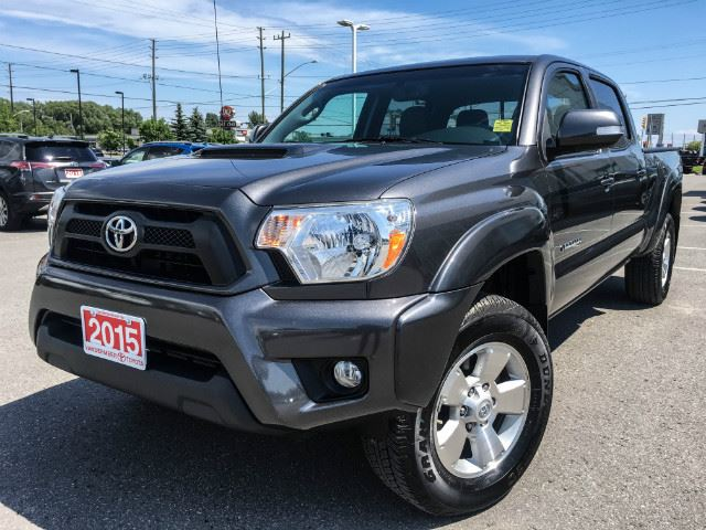 2015 Toyota Tacoma 4WD Double Cab DOUBLE CAB TRD SPORT PKG!!! in Cobourg, Ontario