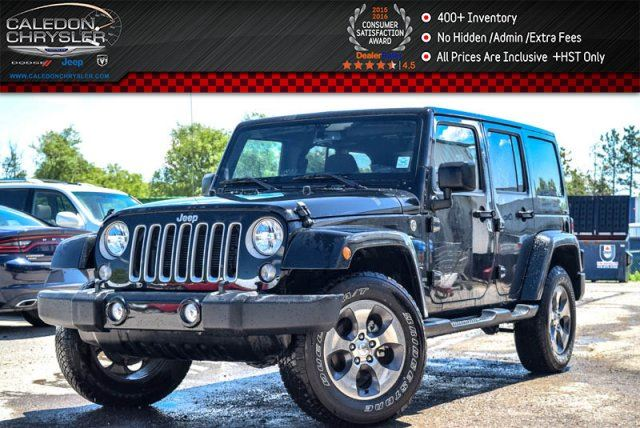2016 Jeep Wrangler Unlimited Sahara in Bolton, Ontario