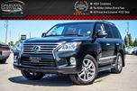 2015 Lexus LX 570 4x4 8 Seater Navi Sunroof DVD Backup Cam Bluetooth Leather Ventilated Front Seats 20Alloy Rims in Bolton, Ontario